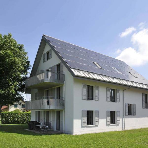 Habitation de 5 logements à Allens : la maison résolument écologique